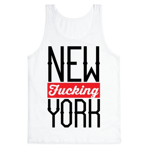 New F***ing York Tank Top