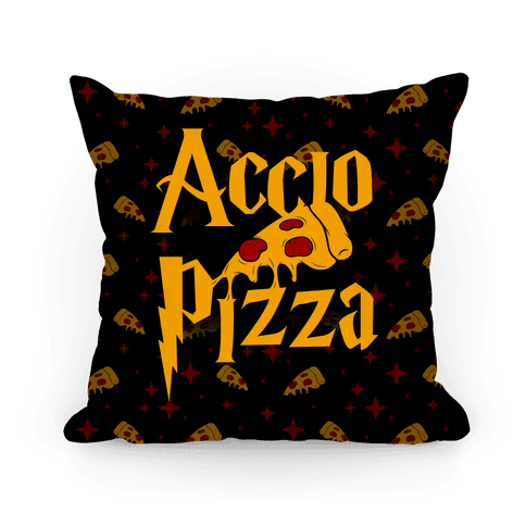 Accio Pizza Pillow