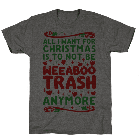 All I Want For Christmas Is To Not Be Weeaboo Trash Anymore