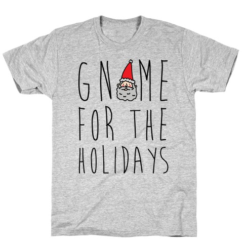 Gnome For The Holidays Mens T-Shirt