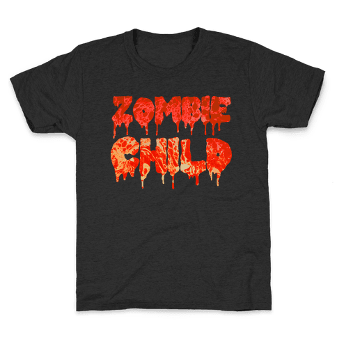 Zombie Child Kids T-Shirt