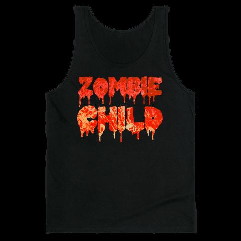 Zombie Child Tank Top