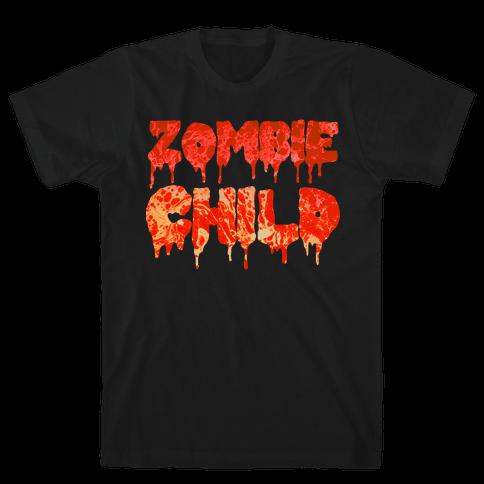 Zombie Child Mens T-Shirt