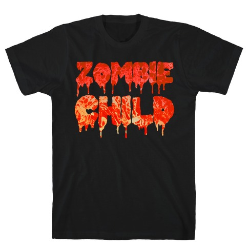 Zombie Child Mens T-Shirt