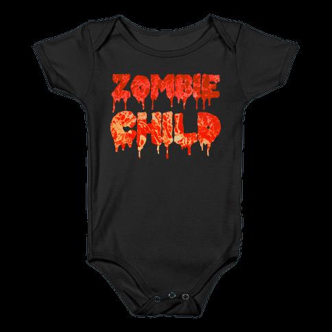 Zombie Child Baby Onesy