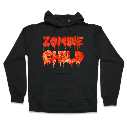 Zombie Child Hooded Sweatshirt