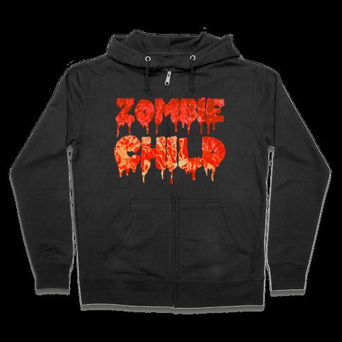 Zombie Child Zip Hoodie
