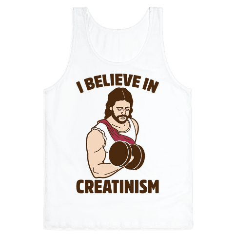 I Believe In Creatinism Tank Top