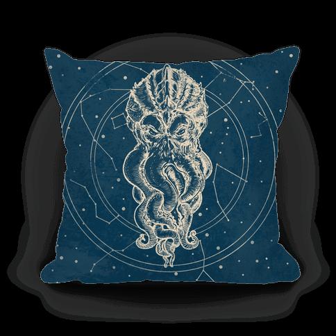 Cthulhu Star Chart Pillow
