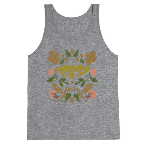 Woodland Moth Tank Top