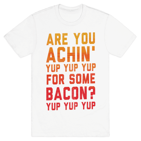 Achin' for Bacon (timon hula) Mens T-Shirt