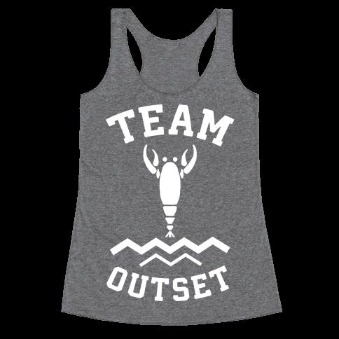 Team Outset Racerback Tank Top
