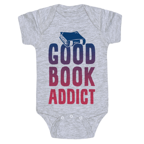 Good Book Addict Baby Onesy