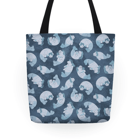 Mermaid Manatees Tote