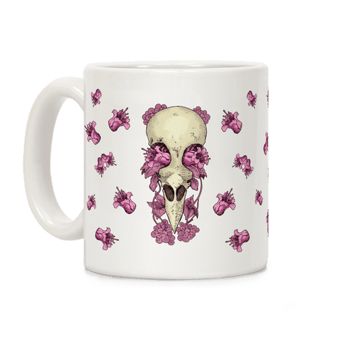 Bird Skull Coffee Mug