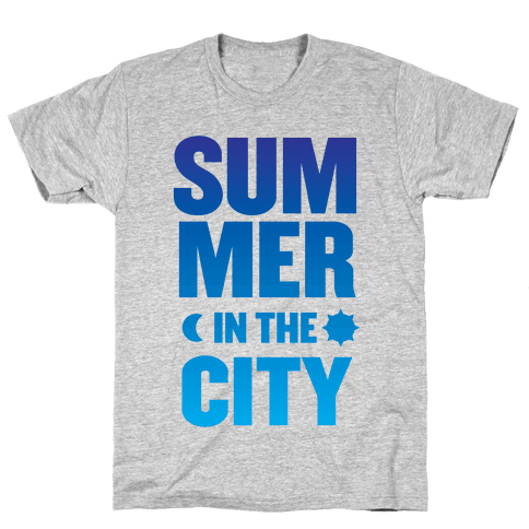 Summer In The City Mens T-Shirt