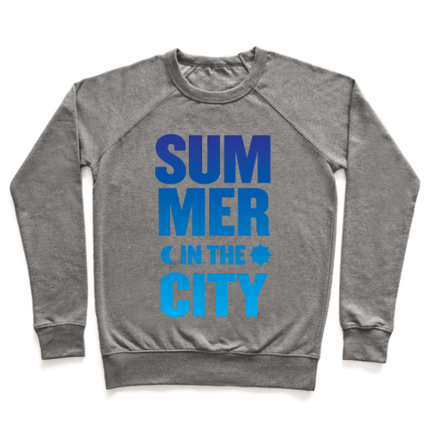 Summer In The City Pullover