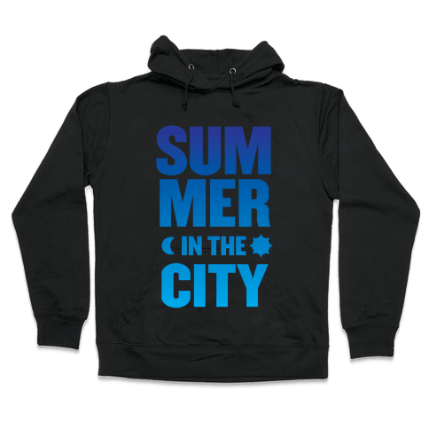 Summer In The City Hooded Sweatshirt