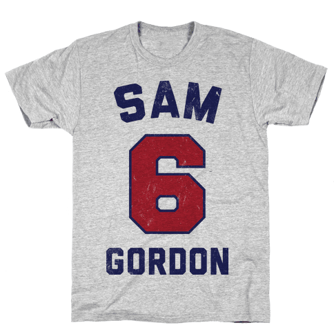 Sam Gordon (Vintage Shirt!) Mens T-Shirt