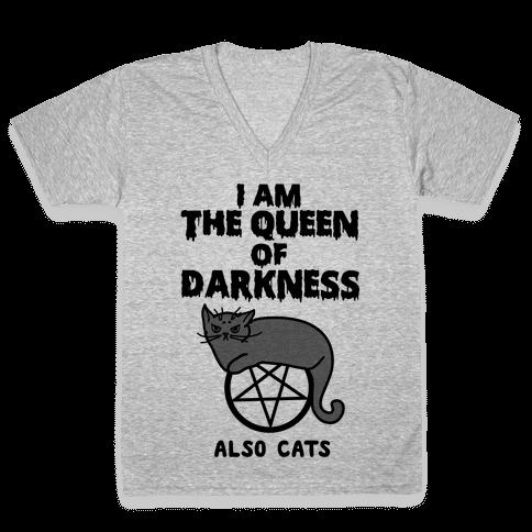 Queen of Darkness V-Neck Tee Shirt