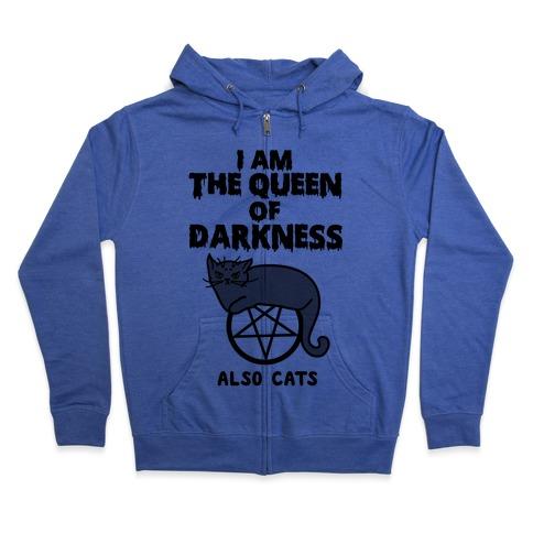 Queen of Darkness Zip Hoodie