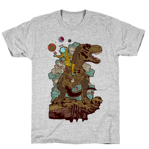 Dinosaur Strength Tarot T-Shirt