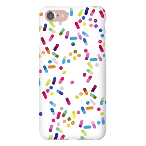 Cute Pill Pattern Phone Case