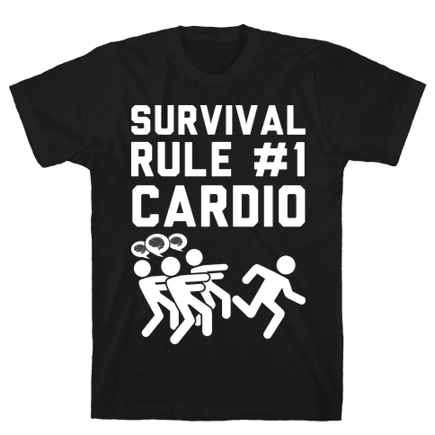Rule One Cardio Mens T-Shirt