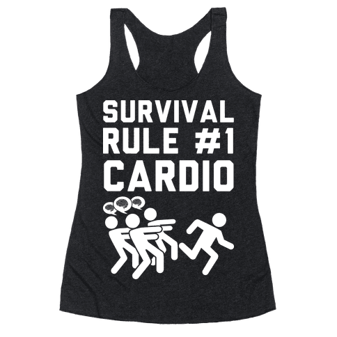 Rule One Cardio Racerback Tank Top
