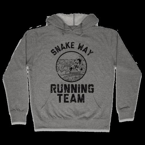 Snake Way Running Team Hooded Sweatshirt