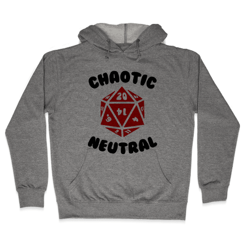 Chaotic Neutral Hooded Sweatshirt