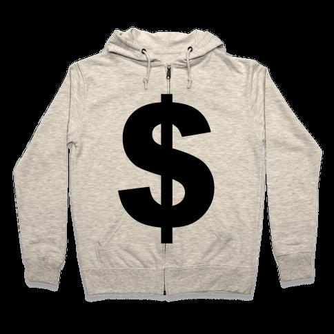 Money Zip Hoodie