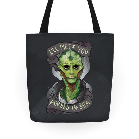I'll Meet You Across The Sea (Thane) Tote