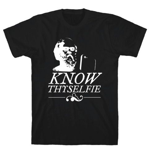Know Thyselfie Mens T-Shirt