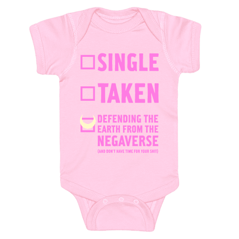 Single, Taken, Sailor Moon Baby Onesy