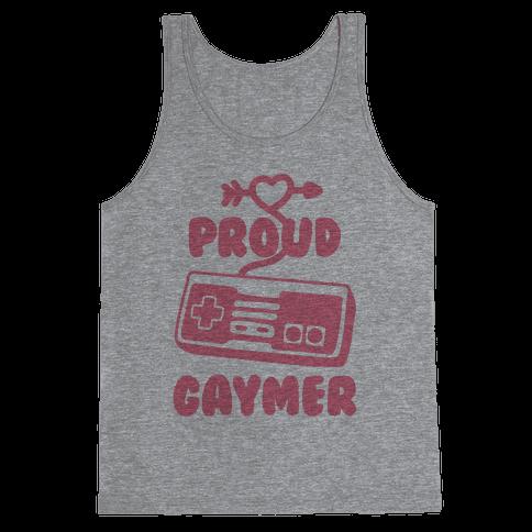 Proud Gaymer Tank Top