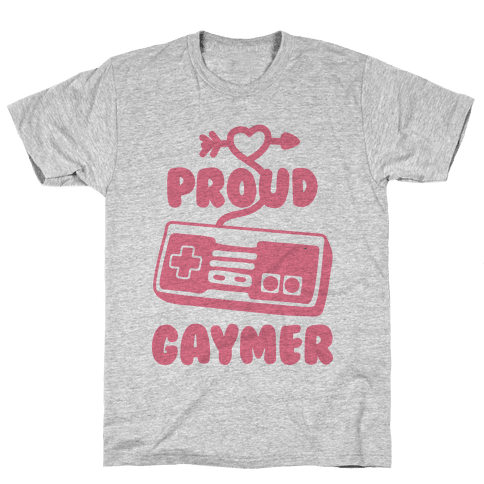 Proud Gaymer Mens T-Shirt