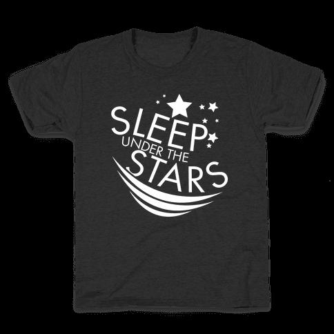 Sleep Under the Stars Kids T-Shirt