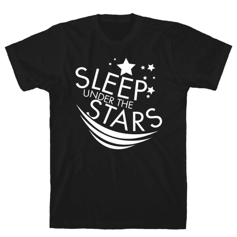 Sleep Under the Stars Mens T-Shirt