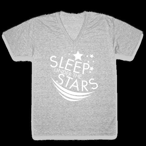 Sleep Under the Stars V-Neck Tee Shirt