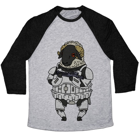 Sheeptrooper Baseball Tee