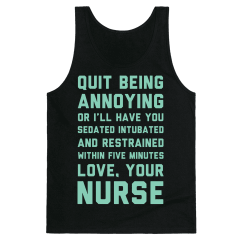 Love Your Nurse Tank Top