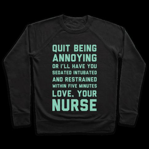 Love Your Nurse Pullover