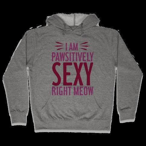 Pawsitively Sexy Hooded Sweatshirt