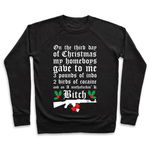 Christmas In The Hood Pullover