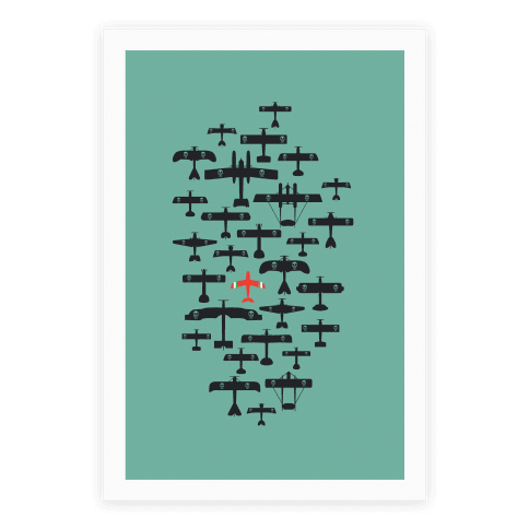 Porco Rosso Fleet Poster