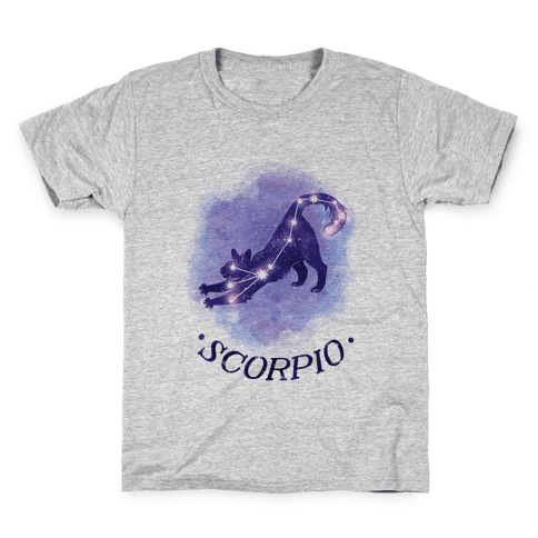 Cat Zodiac: Scorpio Kids T-Shirt