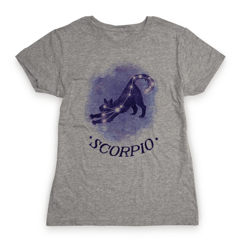 Cat Zodiac: Scorpio Womens T-Shirt
