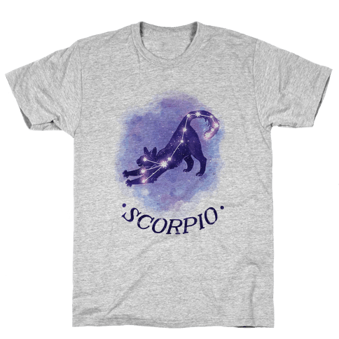 Cat Zodiac: Scorpio Mens T-Shirt