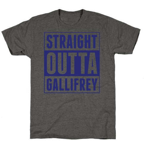 Straight Outta Gallifrey T-Shirt